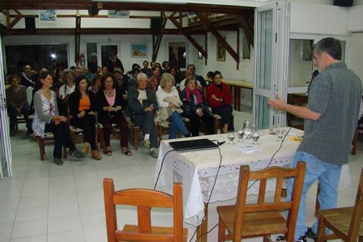 Presentación en Villa Gesell