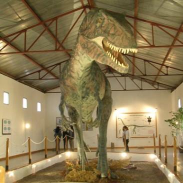 8_Gigantosaurus Carolini en el Museo de El Chocon