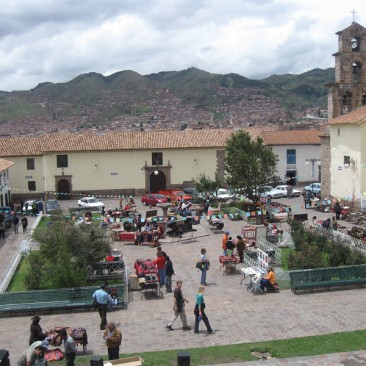 Cusco Plaza San Blas