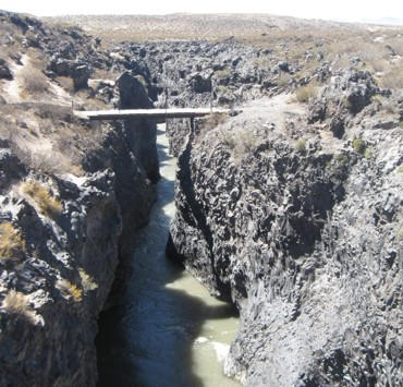 Puente en Ruta 40