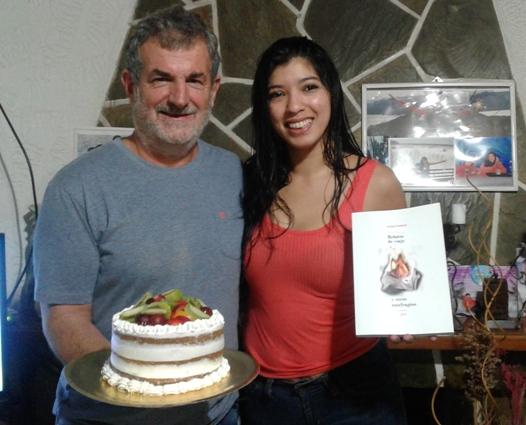 Con una torta de Painé…