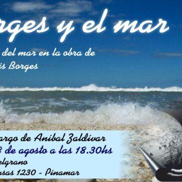 Con Borges en Pinamar
